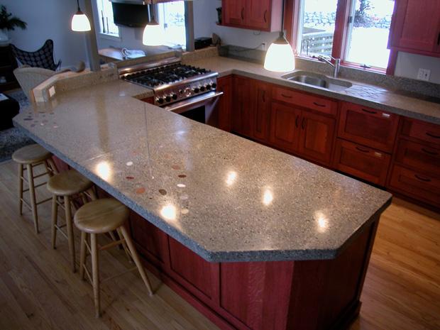 Concrete Countertops Cost : ... sink and countertop image credit naomi beal peninsula countertop
